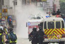 【止暴制亂】港獨黑暴示威縱火破壞  政府指印證國安立法實有必要