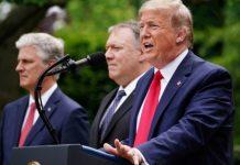 抗疫無能轉移視線  特朗普宣佈終止美國與世衛關係