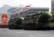 日本大學統計 中國核武數量超法躋身三甲