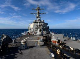 六四31週年 美驅逐艦穿越台海
