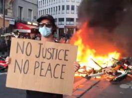 【美暴浪潮】歐洲多國示威聲援美示威者     巴黎爆衝突