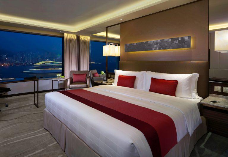 只要加多$100,即可由半海景客房升級至尊尚海景客房。