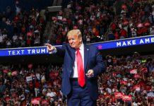 特朗普出席競選集會  再批華盛頓州拒派兵鎮壓反種族歧視示威