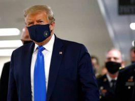 【新型肺炎】全球確診1260萬宗 美國疫情最重 特朗普首次公開戴口罩