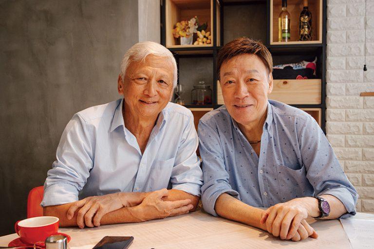 退休高級警司左墀(Gilberto Jorge)和退休警司陳欣健是生死之交。