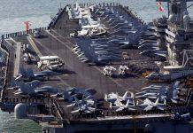 【航母軍演】解放軍南海演練之際 美軍派雙航母同區內演習