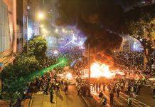 黑暴惹禍 香港在全球法律和秩序排名榜跌至82位
