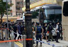 【止暴制亂】警方銅鑼灣至少拘69人包括兩區議員 搜出摺刀等武器