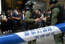 【止暴制亂】特區政府強烈不滿美國指責香港警方濫捕 嚴斥美方持雙重標準