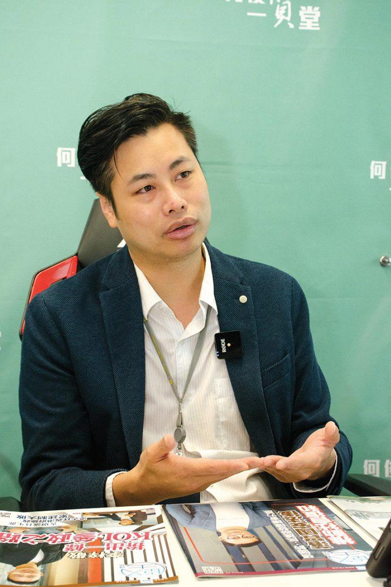 何俊賢認為撥款機制對愛國團體不公。