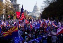【政權交接】特朗普仍拒認輸 近萬支持者白宮外遊行一度爆衝突