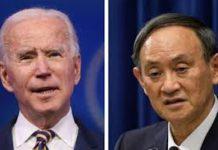 美日首腦通話 同意加強兩國同盟關係