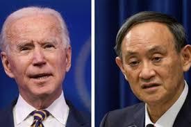 拜登首次與菅義偉通電話,同意加強兩國同盟關係。