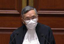 張舉能履新致辭 指法官須自我克制 將檢討透明度與問責性