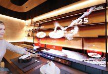 CES 2021 LG創新用OLED點餐兼做隔板