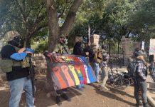 【政權移交】多州議會現持械示威者  當局嚴陣以待
