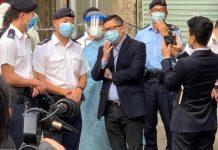 【新型肺炎】多支紀律部隊成員進駐「受限區域」支援防疫 協助居民檢測