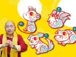 辛丑牛年十二生肖運程(三)猴 雞 狗 豬