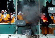 美國密蘇里州逾百囚犯不滿疫情禁探監擬逃獄 司法大樓遭縱火
