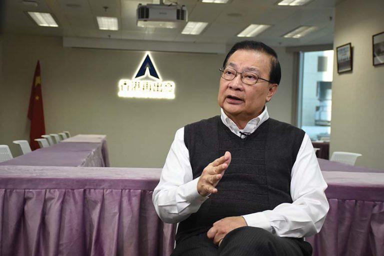 譚耀宗認為香港每隔幾年都會就政制發展發生爭拗,中央及特區都有必要思考一下。