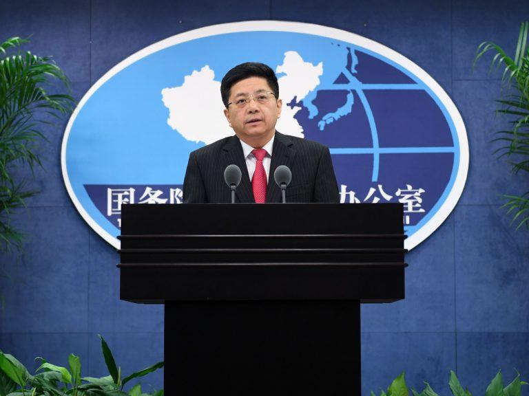 國台辦發言人馬曉光說,多次從台灣輸入大陸的菠蘿中,截獲檢疫性有害生物。
