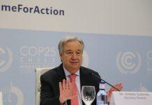 【圍堵中國】聯合國秘書長古特雷斯稱正和中國商討派員到新疆觀察人權