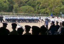 五大紀律部隊今日舉行中式步操結業典禮