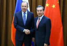 俄外長拉夫羅夫訪華 倡兩國擺脫以美元結算抗制裁