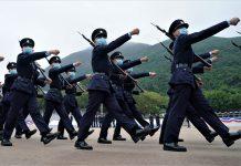 下月全民國安教育日 5大紀律部隊將公開表演中式步操