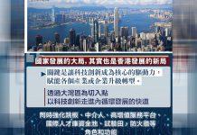 【經濟發展】陳茂波:香港必須抓緊國家發展新階段機遇