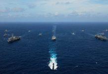 美日印澳法疑4月海上聯合軍演 抗衡中國