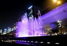 觀塘海濱音樂噴泉受梘液影響需暫時關閉 康文署:需着重公德