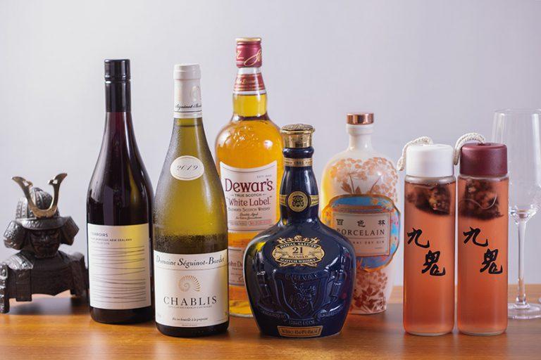 九息供應的酒類很廣泛,有清酒、日本生啤、燒酌及紅白餐酒, 價錢由$68至$880,豐儉由人。