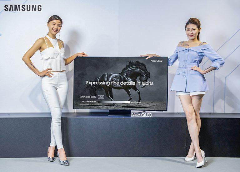 Samsung最新 Neo QLED電視系列共有4 個系列、11個型號。