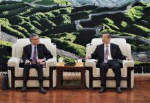 最高法院長周強晤張舉能 冀帶領香港司法機構擔當作為