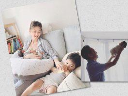 岑麗香宣布細仔出世 組成四口幸福之家