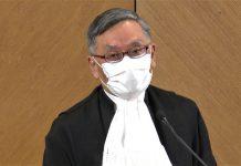 張舉能指因不滿法庭判決而質疑司法獨立 會令法治受損