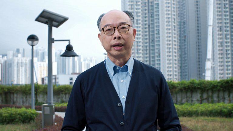 陳帆曾拍片宣傳政府工作。﹙中新社﹚
