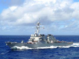 【中美角力】美驅逐艦穿越台海 解放軍批故技重施