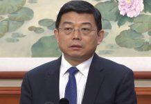 王振民指港人既然接受一國兩制 就應自覺接受中共領導