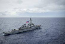 【中美角力】南海仲裁五周年 美艦駛入西沙 中國稱監視驅離