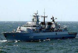 德軍艦巴伐利亞號20年來首次穿越南海 中國高度關注