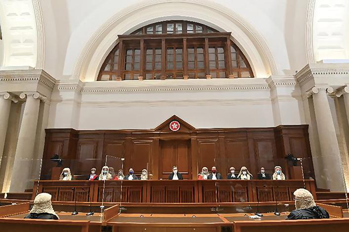 張舉能今年1月上任終審法院首席法官,為司法機構帶來新氣象。