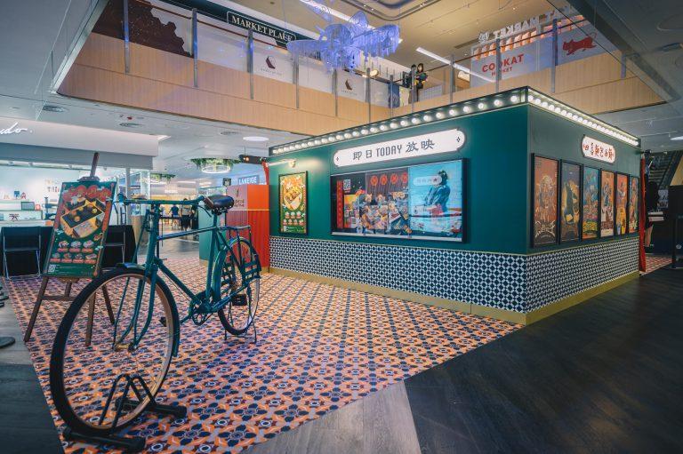 四喜麵包西餅的期間限定店以懷舊戲院作主題。