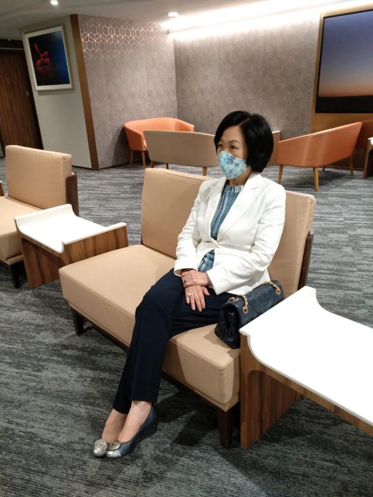 葉劉淑儀表示,作為公眾人物接種「第三針」是以身作則。(FB圖片)