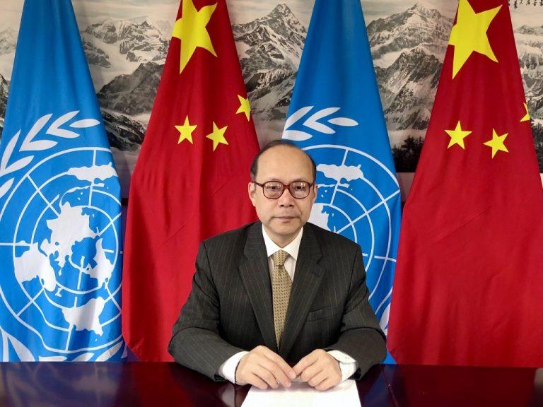 陳旭批評一些國家將自身價值強加於別國,嚴重損害別國主權和獨立。