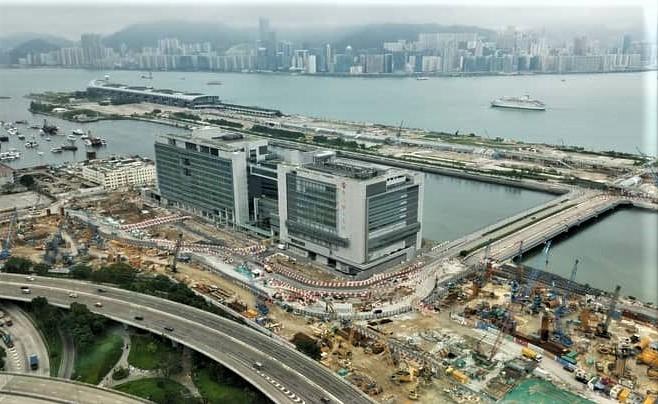新急症醫院工程地點內的4個監測點,均出現地基超標沉降。
